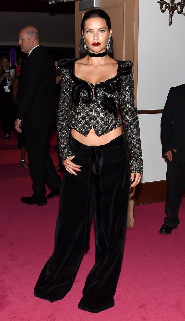 Adriana Lima at the CFDA Awards 2016