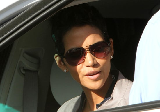 Halle Berry out and about
