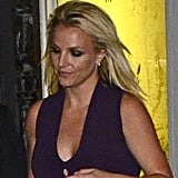 Britney Spears ate dinner at ABC Kitchen in NYC after the Fox Upfronts party.