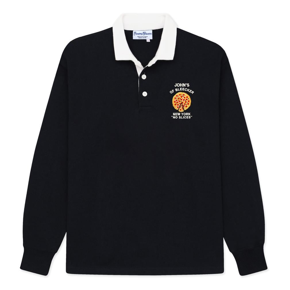 """Rowing Blazers John's Pizza """"No Slices"""" Rugby"""
