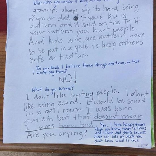 Girl With Autism's Letter to Her Mom