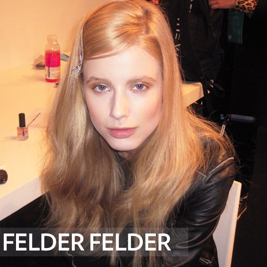Felder Felder 2012 Beauty: Hair, Makeup, and Nails
