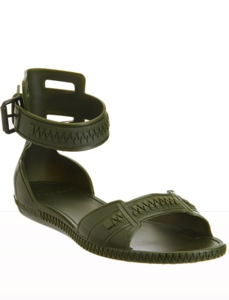 """""""There's not much else to say other than: my flat sandal prayers have been answered. The fact that these ankle-strap sandals are rainstorm-proof makes them a 'wear every day' contender for Summer."""" — Marisa Tom, associate editor  Givenchy Jelly Sandal ($190)"""
