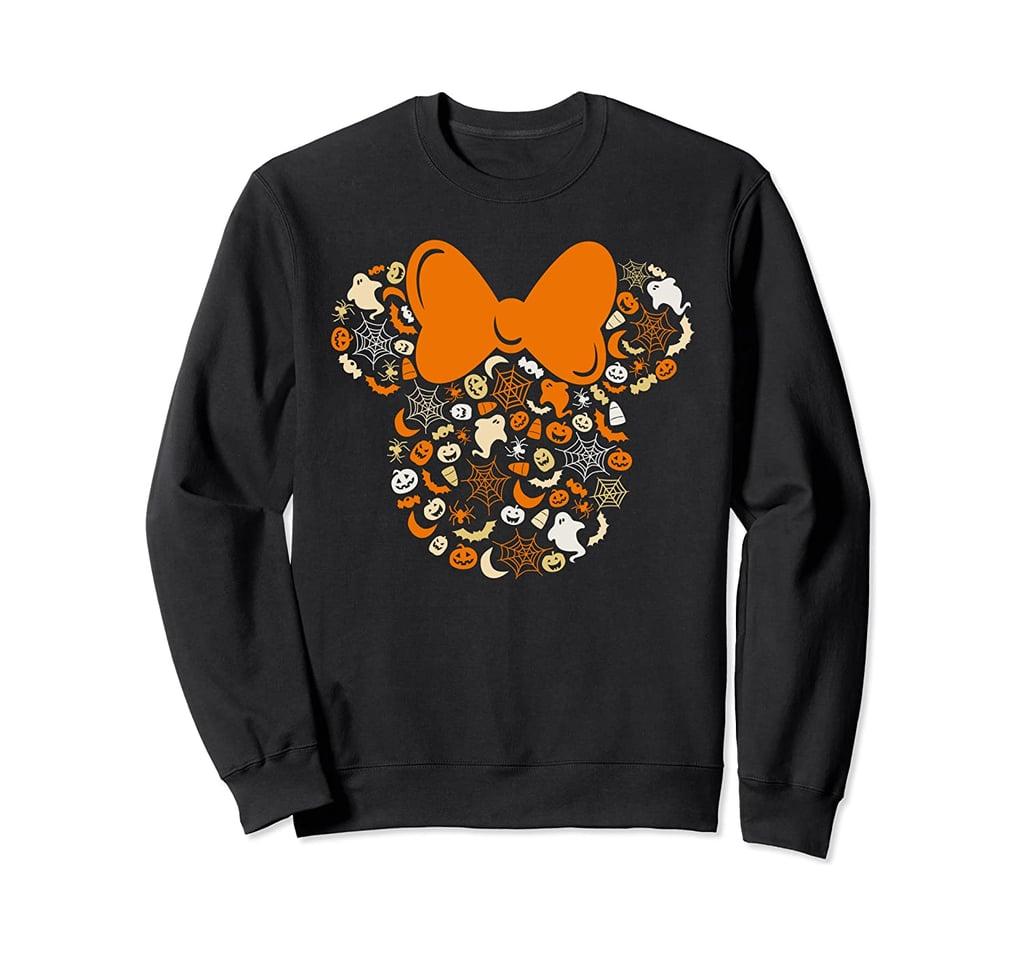 Disney Minnie Mouse Halloween Sweatshirt