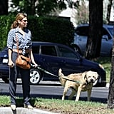 Ryan Gosling Returns to LA and Eva Mendes | Pictures