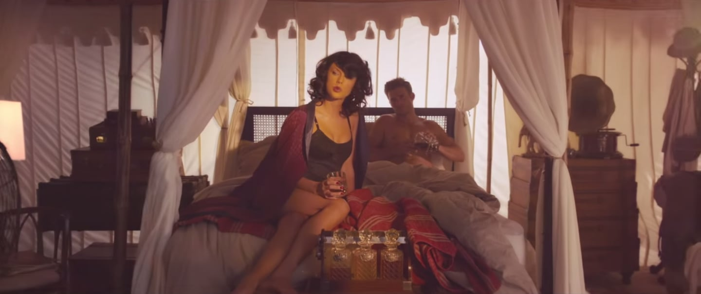 Taylor Was Sexy In Some Lingerie Taylor Swift S Wildest Dreams Video Is So Glam We Can T Stand It Popsugar Fashion Photo 7