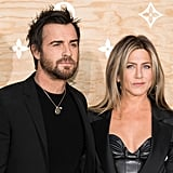 "Jennifer Aniston and Justin Theroux Are ""in Louvre"" at a Swanky Paris Dinner"