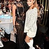 Rihanna and Ariana Grande at the 2014 iHeartRadio Music Awards