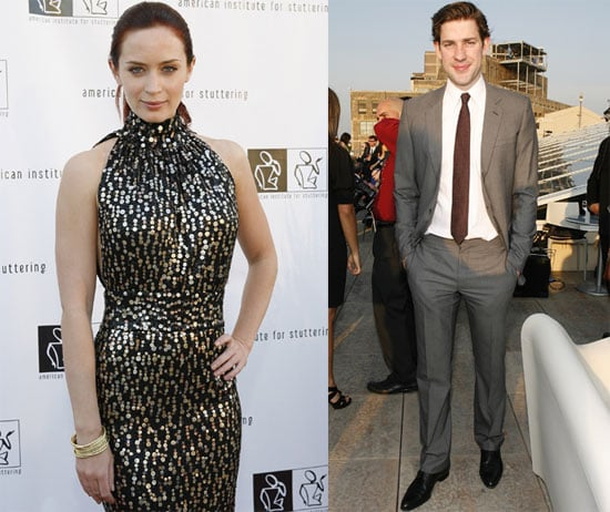 Photos of John Krasinski and Emily Blunt at a Benefit Gala in NYC