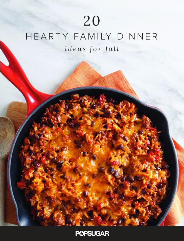 Fall Family Dinner Ideas