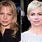 Michelle Williams: Beachy, blonde curls to platinum pixie.