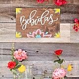 Vibrant Floral Banner
