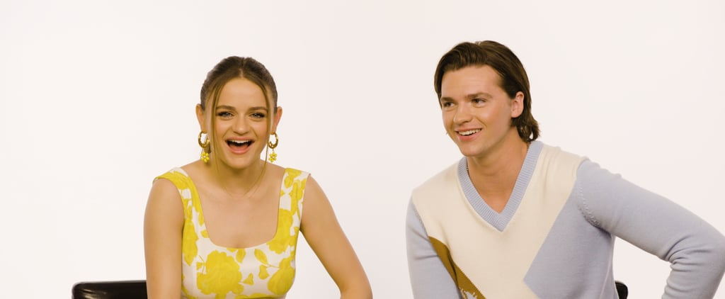 Joey King and Joel Courtney Kissing Booth Interview