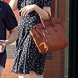 Carey Mulligan Breaks From Broadway For a Floral Day Out