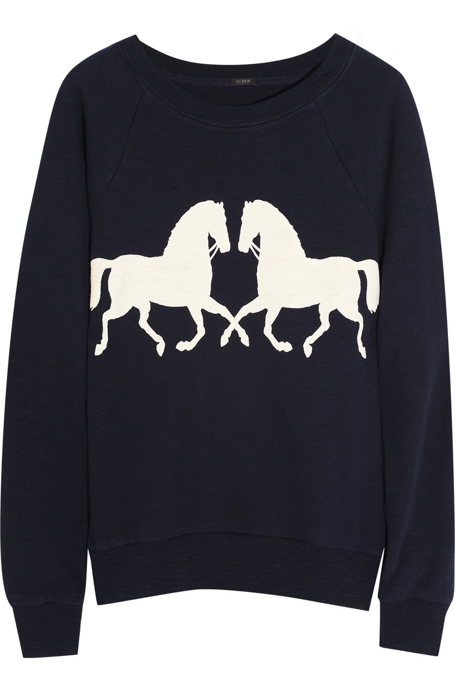 You don't have to be an equestrian to appreciate this J.Crew Horsing Around Sweater ($65).