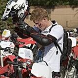 When He Rode a Motorbike