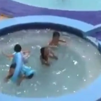 Video of Baby Almost Drowning While in Pool Flotation Device