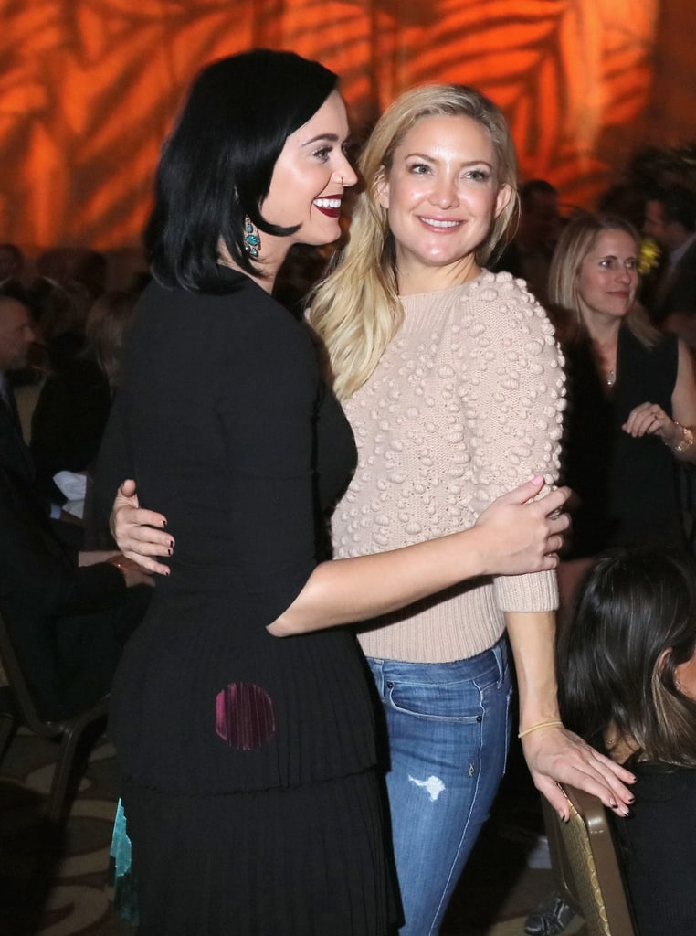 Katy Perry and Kate Hudson at GO Campaign Gala 2015 | POPSUGAR Celebrity