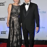 Prince Albert and Princess Charlene were dressed in their finest for an event in NYC.
