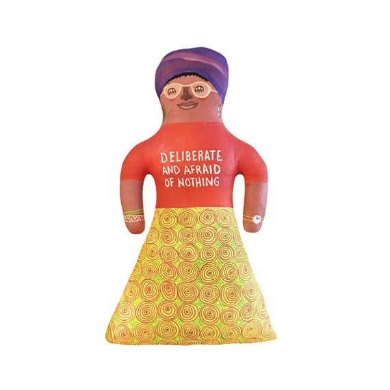 75531ad8a36 Audre Lorde Large Handmade Painted Doll | Famous Women in History ...