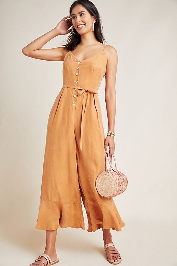 375757a09281 Best Jumpsuits and Rompers From Anthropologie | POPSUGAR Fashion