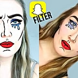 Snapchat Comicbook/Popart Filter Makeup