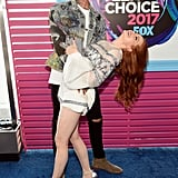 August 2017: Travis Supports Madelaine at the Teen Choice Awards