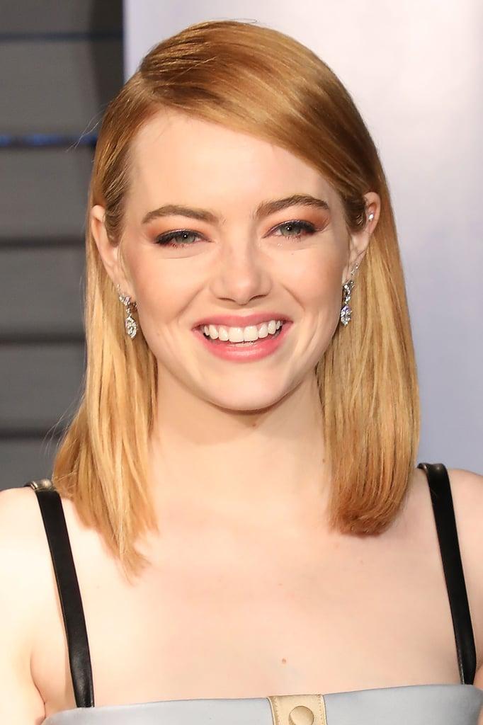 Emma Stone S Natural Hair Color Popsugar Beauty