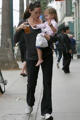 Pictures of Jennifer Garner and Seraphina Affleck