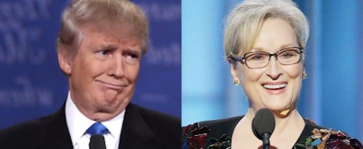 Donald Trump Bullies Meryl Streep After Her Antibullying Speech