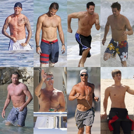 Beckham and Charvet Battle to Be the Hottest David, and More Same-Named Faceoffs in Our Shirtless Bracket!