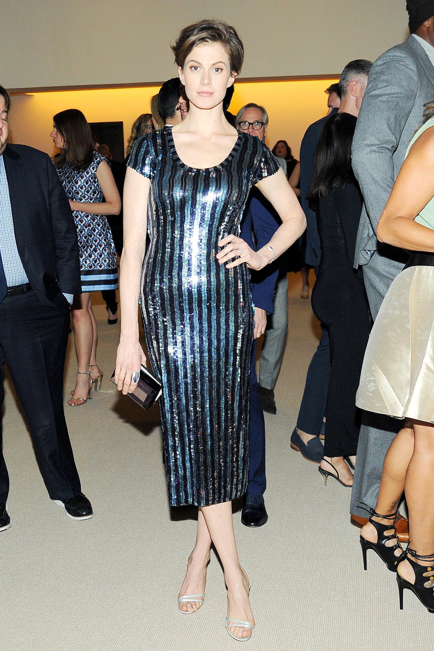 Elettra Wiedemann at the CFDA/Vogue Fashion Fund Awards.