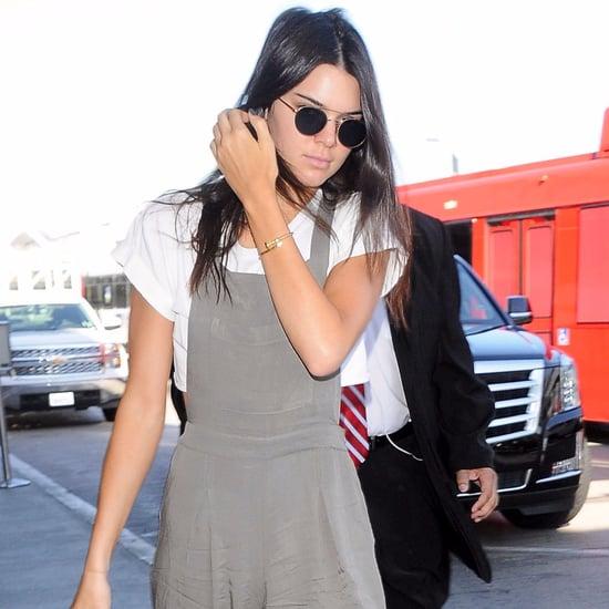 Kendall Jenner Wearing Forever 21 Overalls