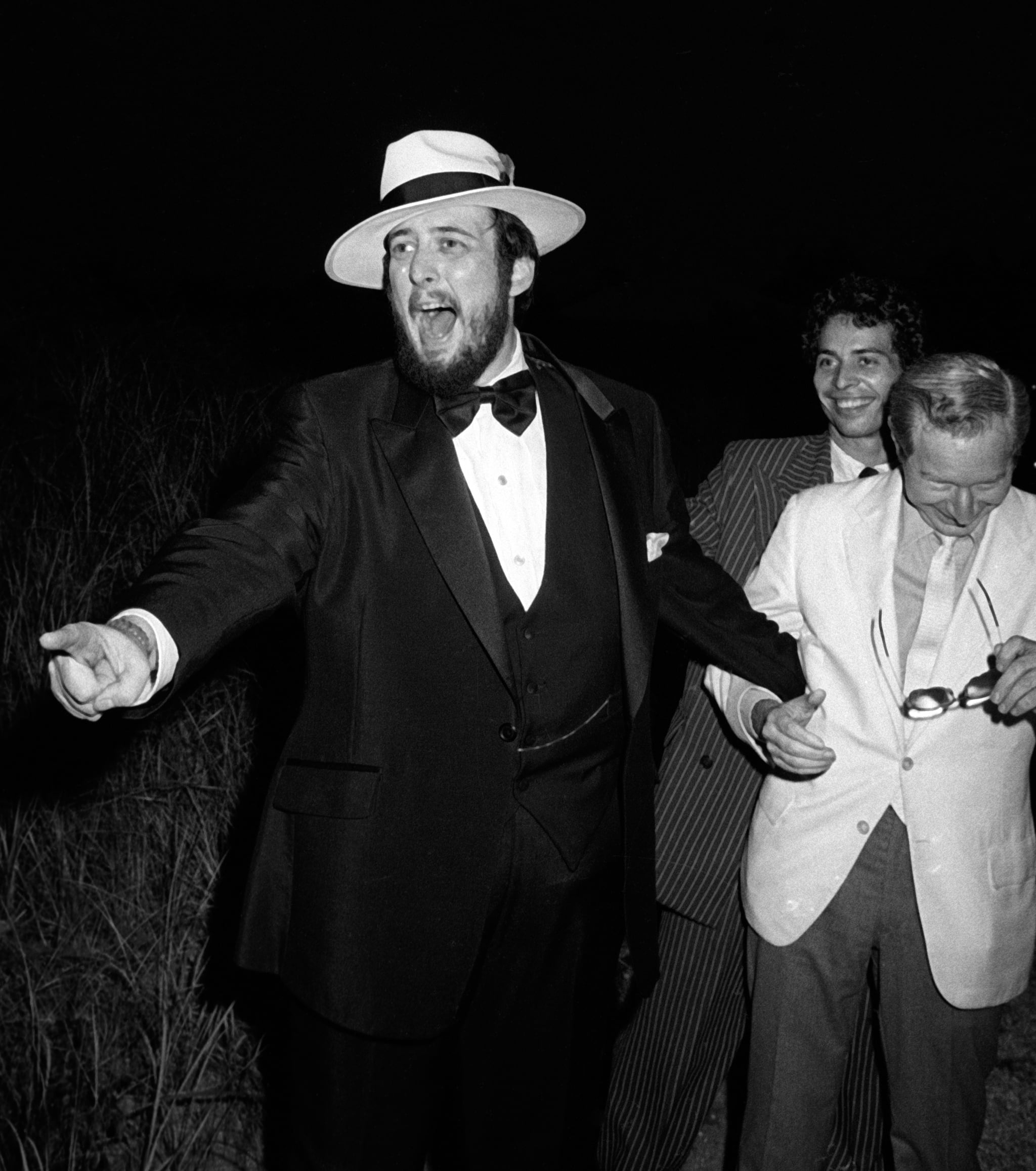 SOUTHAMPTON, NY - SEPTEMBER 5:  Roy Radin attends Roy Radin - Toni Fillet Wedding on September 5, 1981 at his home in Southampton, New York. (Photo by Ron Galella, Ltd./Ron Galella Collection via Getty Images)