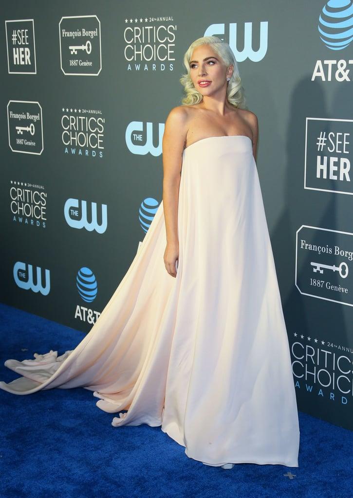 Lady Gaga at the 2019 Critics' Choice Awards