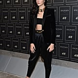 Kendall Jenner at the BALMAIN X H&M Collection Launch in 2015