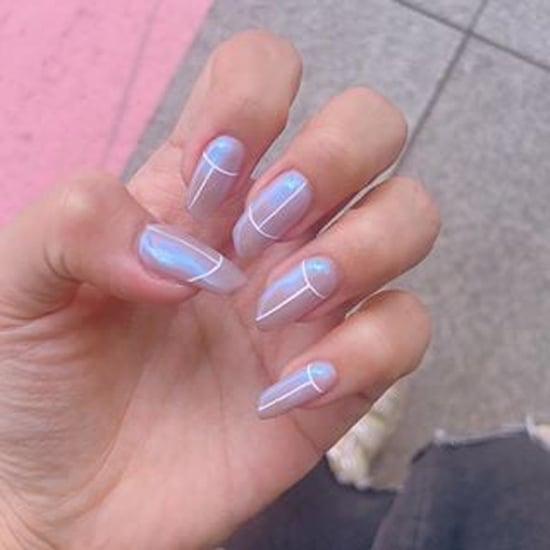 K Beauty Nail Art Trend | Iridescent Nails