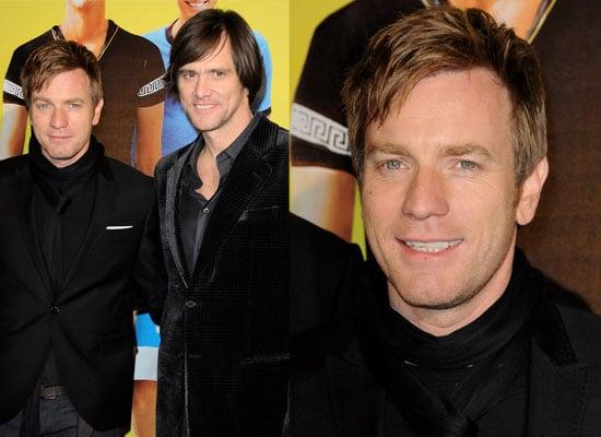 Photos of Ewan McGregor and Jim Carrey at I Love You Philip Morris Paris Premiere