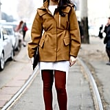 Milan Fashion Week Street Style Fall 2013