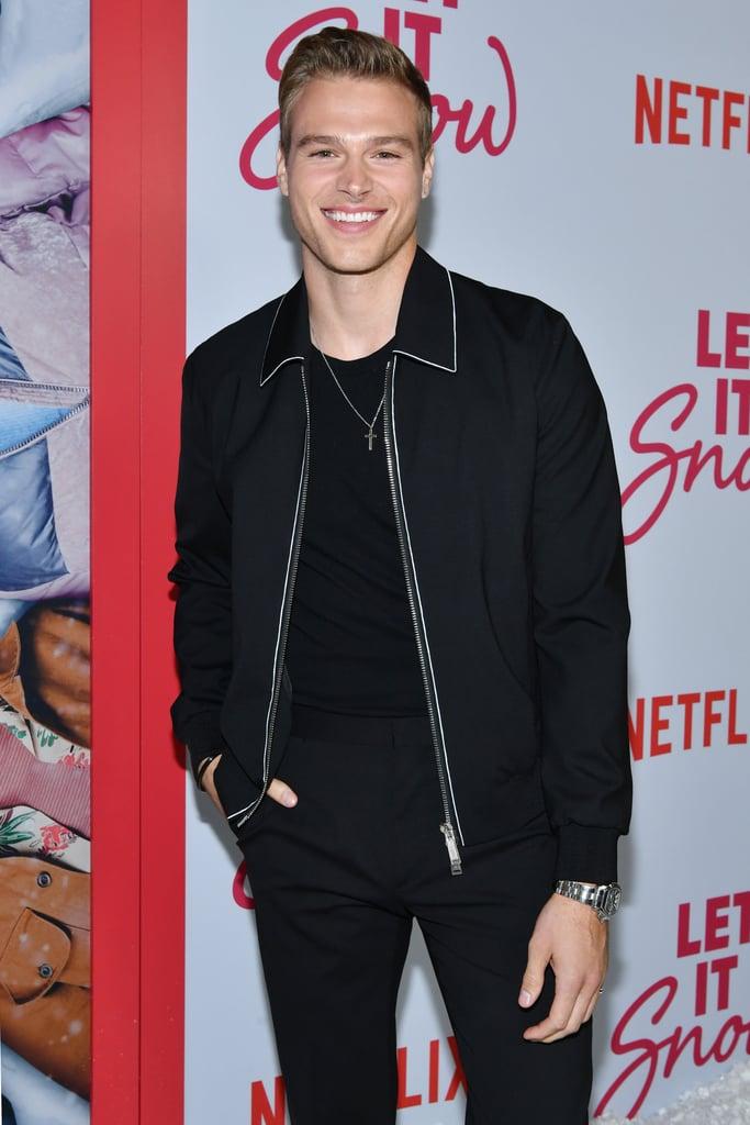 Matthew Noszka at the Let It Snow Premiere