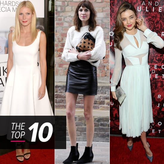 Top 10 Best Dressed Of The Week: Minis, Midis and Pink Leather Pants!