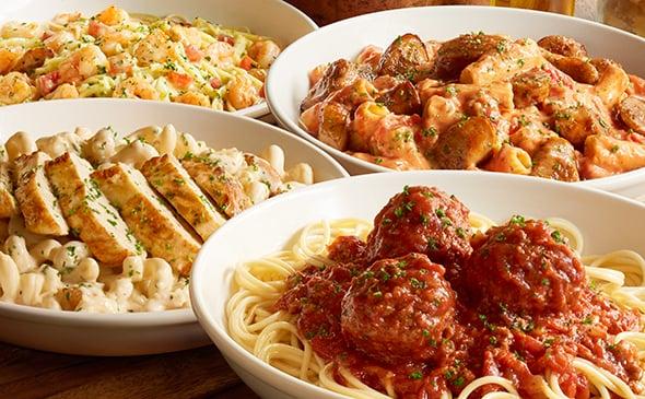 Cucina Mia! Build Your Own Pasta | Healthiest Menu Items ...