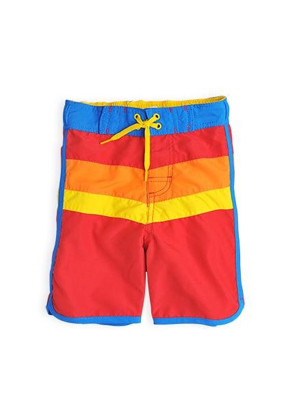 Retro Stripe Board Shorts