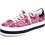 Alice + Olivia x Keith Haring Ezra Flatform Sneaker