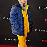 Billie Eilish's Reversible Puffer Coat