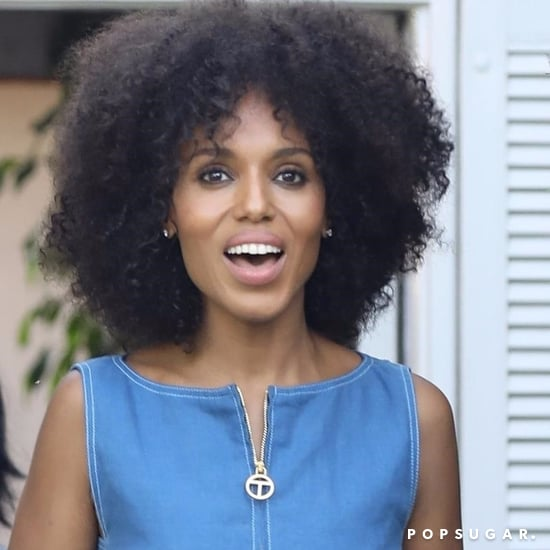 Kerry Washington With Natural Hair