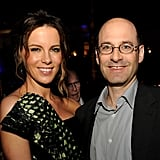 Kate Beckinsale got together with Dough Belgrad at the afterparty of the Total Recall premiere in LA.