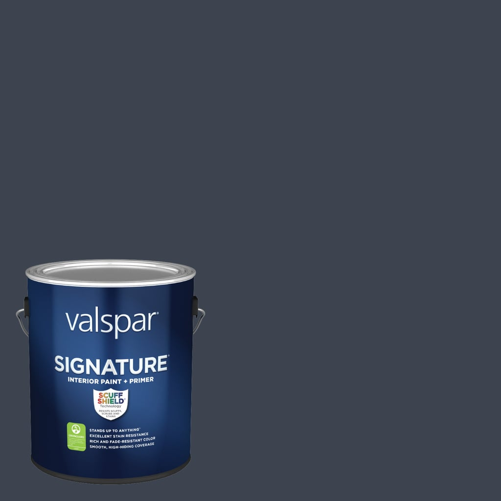 Valspar® Signature® Flat Blue Endeavour Interior Paint