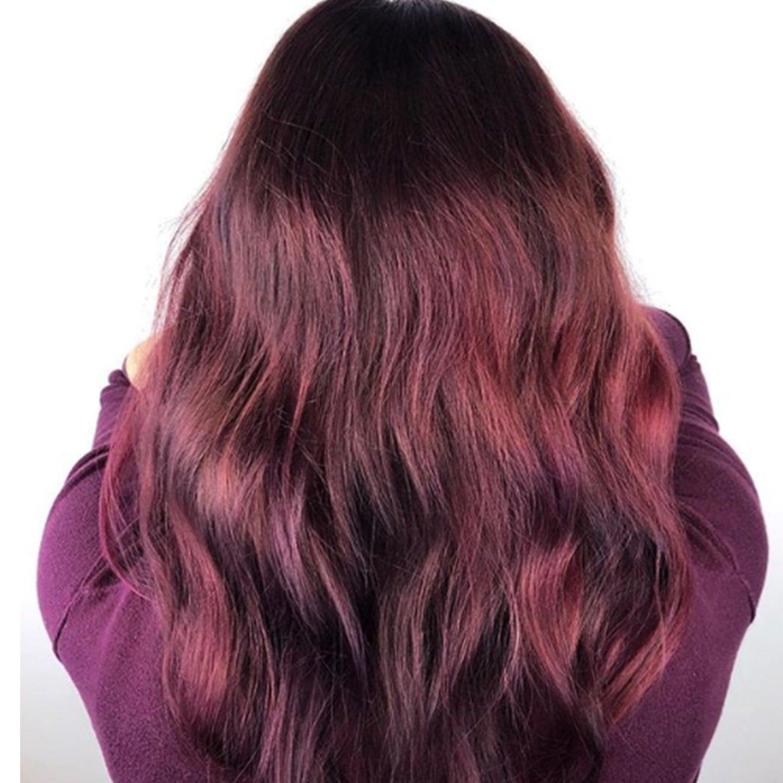 Maroon Hair Color Popsugar Beauty