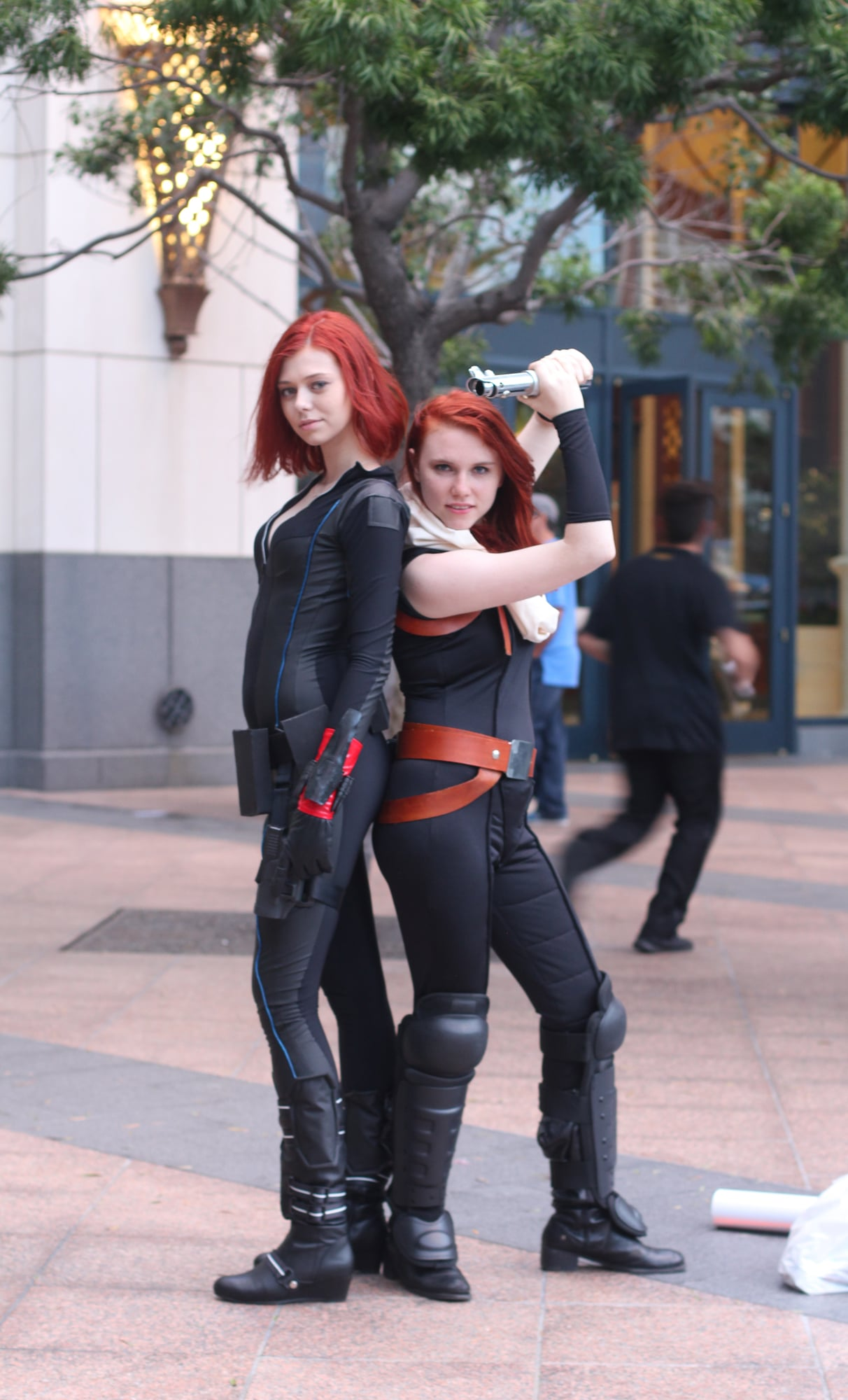 Black Widow The Absolute Best Cosplays From Comic Con 2015 Popsugar Tech Photo 79